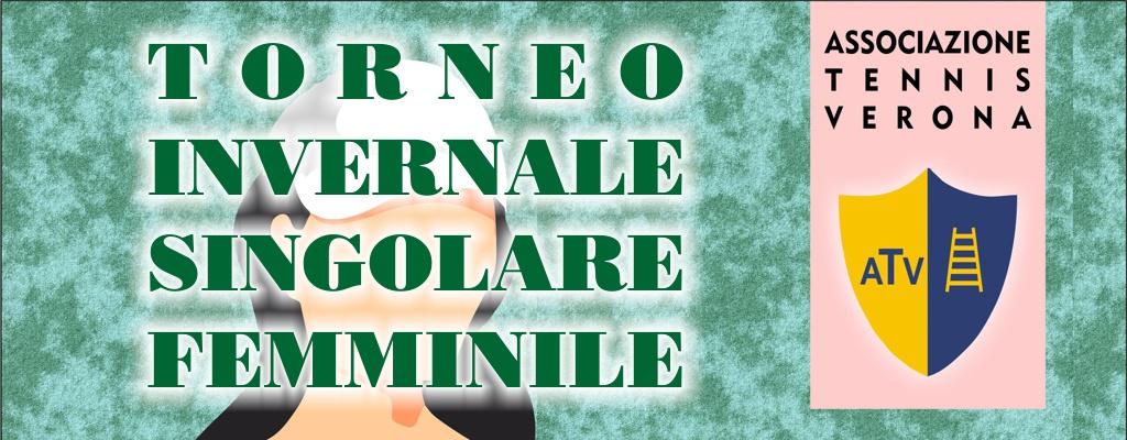 TORNEO INVERNALE SING FEMMINILE