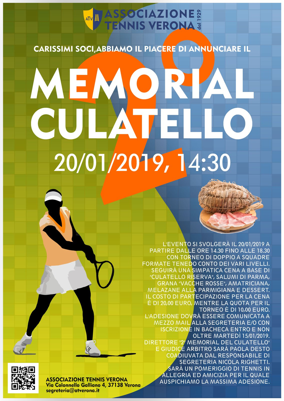 2° MEMORIAL CULATELLO