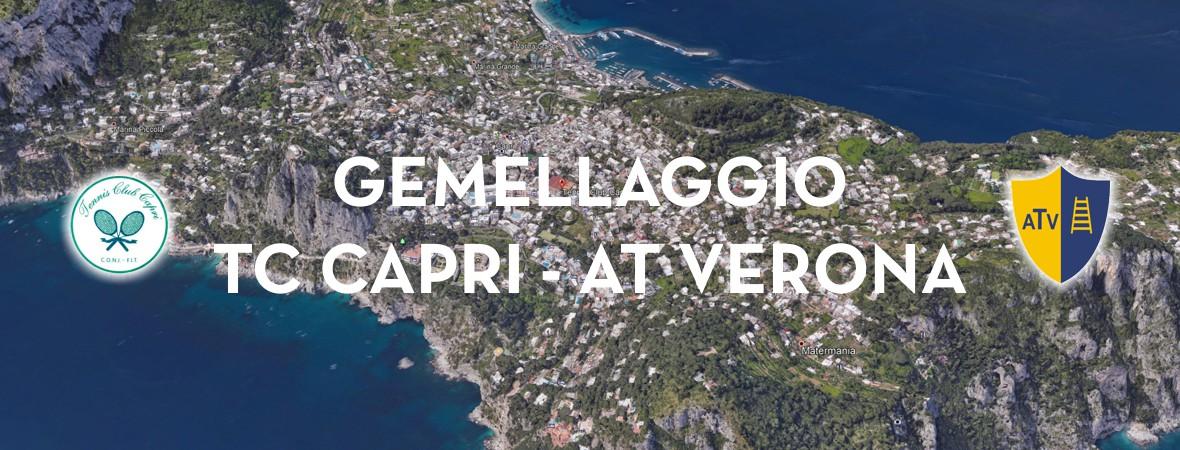 GEMELLAGGIO TC CAPRI - AT VERONA
