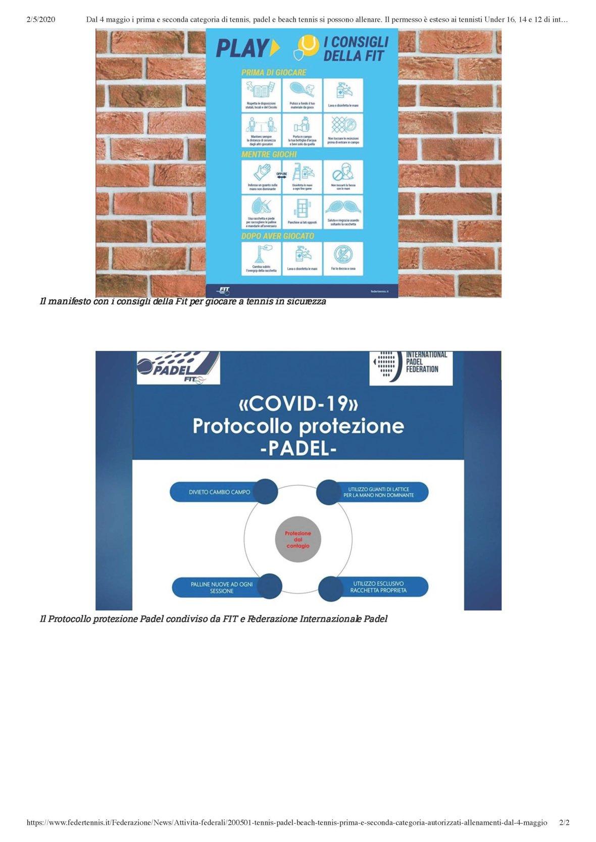 COVID-19: CIRCOLARE 7, FASE 2