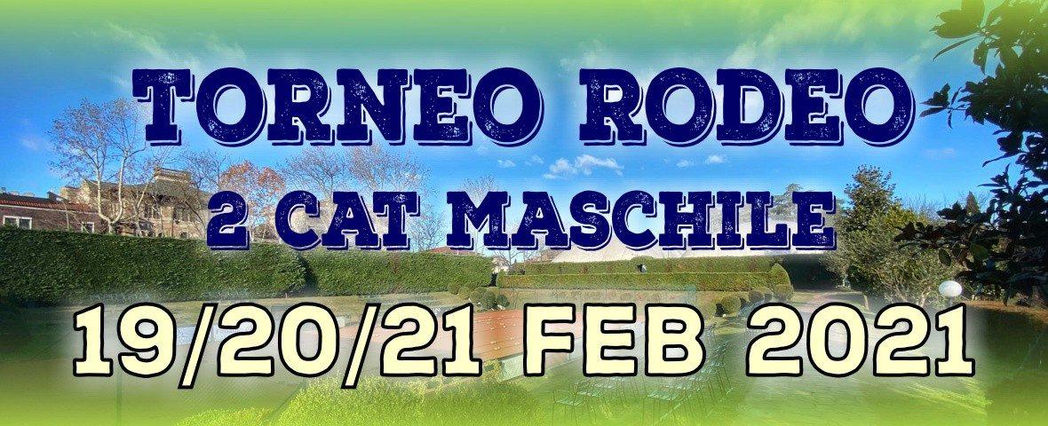 TORNEO RODEO 2^ MASCHILE